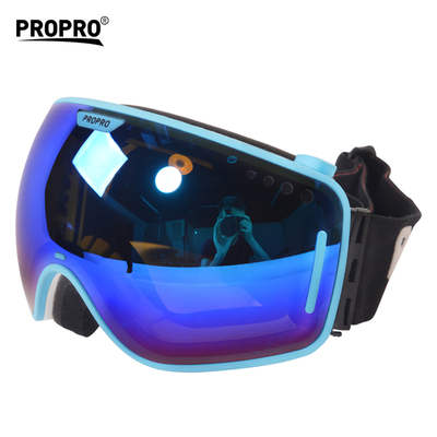 Detachbale Lens Cool Adult Snow Board Skiing Goggles Sun Goggles Sport Double Lens Anti Fog UV Prote