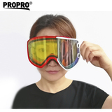 2019 Most Popular 2 in 1 magnetic Skiing Goggles Winter Safety Snowboarding Ski Goggle