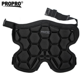 Original honeycomb design padded pants pads for skiing, skating
